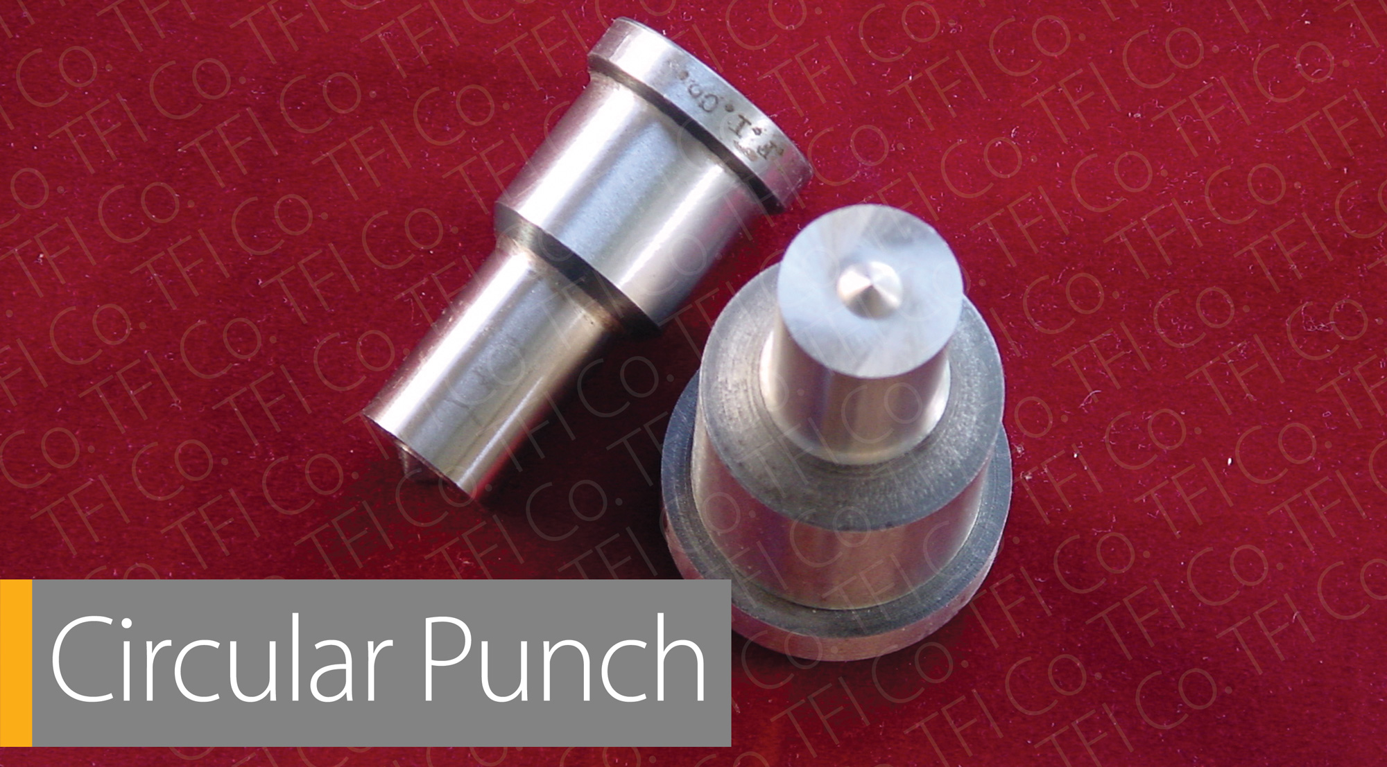 Tfico punch die hole circular
